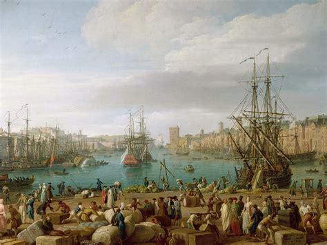 int 233 rieur du port de marseille 1754 claude joseph vernet wikiart org