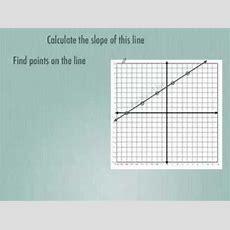 Calculating Slope Youtube