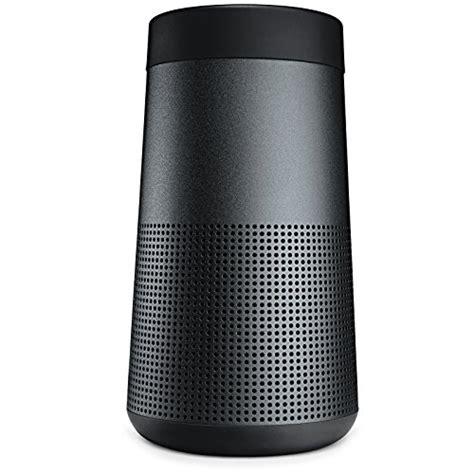 bose 360 grad sound bose soundlink revolve portable bluetooth 360 speaker black speakersbluetooth