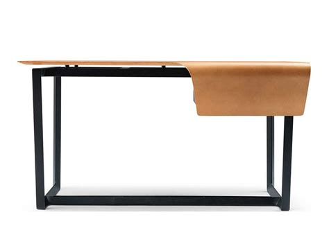 Tanned Leather Writing Desk Fred By Poltrona Frau Design