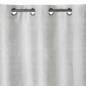Rideau Gris Clair : rideau koberg gris clair 140 x 240 cm castorama ~ Teatrodelosmanantiales.com Idées de Décoration