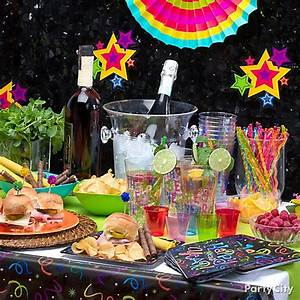 NYE Tropical Fiesta Menu Ideas - Party City