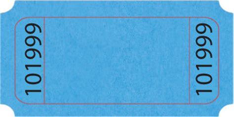 standard blank roll ticket  ticketcom