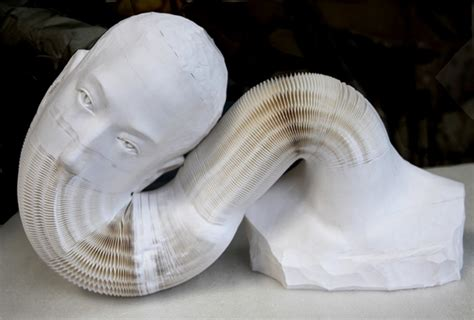 paper sculptures   surprise materialdistrict