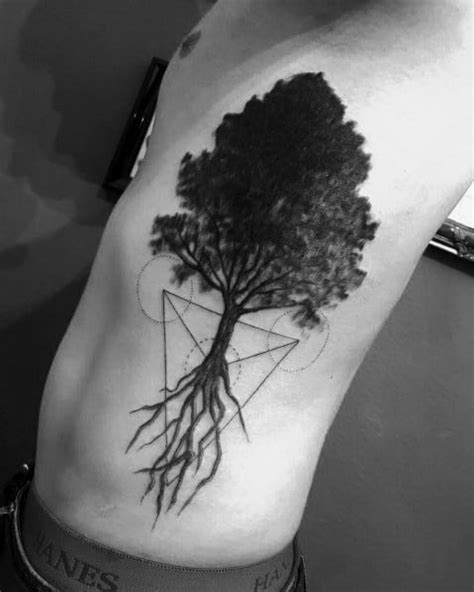 60 Cool Tree Tattoos For Men - Nature Inspired Ink Design