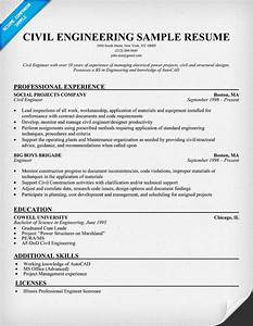 Objective Example On A Resumes Civil Engineering Resume Engineering Resume Engineering