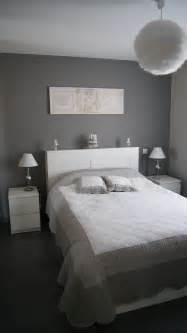 deco chambre gris blanc déco chambre grise et blanc