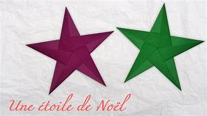 Origami Facile Noel : origami une toile de no l youtube ~ Melissatoandfro.com Idées de Décoration