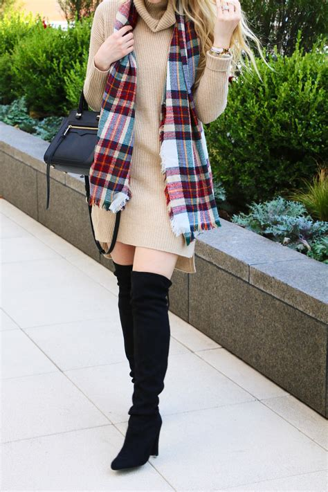 sweaters to wear with how to wear a sweater dress with boots