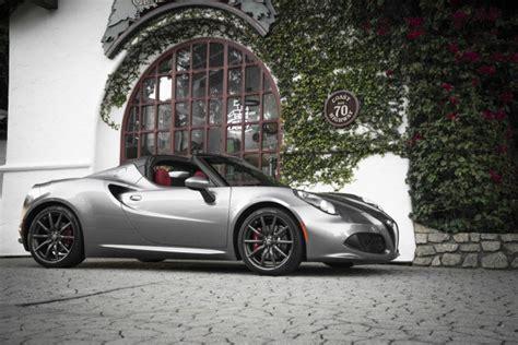 Alfa Romeo 4c Pricing by Alfa Romeo Announces Pricing Of 4c Spider