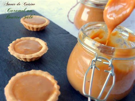 cuisine caramel caramel au beurre salé amour de cuisine
