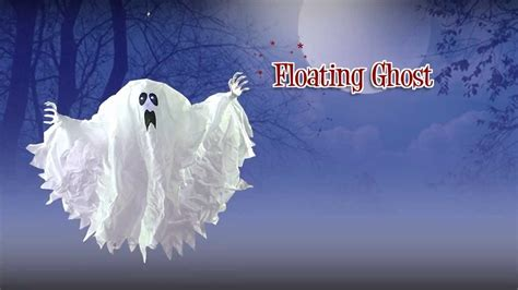 floating ghost halloween decoration youtube