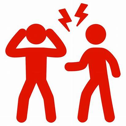 Conflict Icon Noun Fight Mediation Konflikt Braune