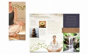 Z Fold Brochure Template Word Naturopathic Medicine Brochure Template Design