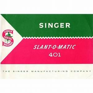 Singer 401a Parts List