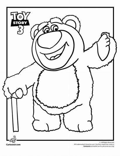 Toy Coloring Story Bear Lots Huggin Pages