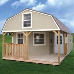 painted treated deluxe lofted barn cabin derksen