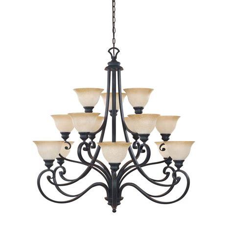 Iron Chandelier - designers monte carlo 15 light hanging