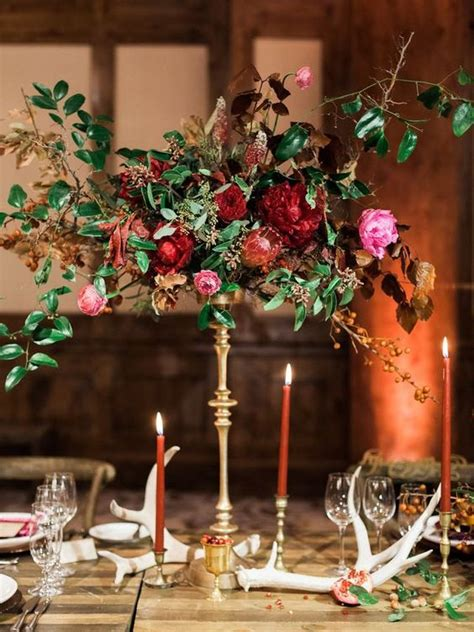 gorgeous winter wedding centerpieces crazyforus