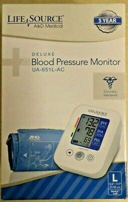 New Life Source A & D Medical Deluxe Blood Pressure