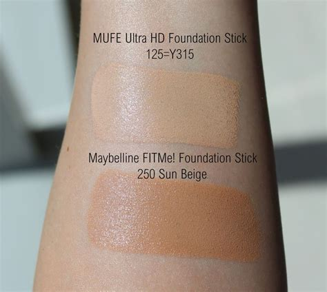 hd foundation stick review swatches