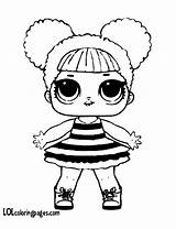 Bee Queen Coloring Lol Pages Surprise Dolls Doll Colouring Printable Bees Kitty Series Print Getdrawings Getcolorings Colo Drawing sketch template