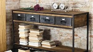 Bureau Industriel Maison Du Monde : faire une decoration industrielle visuel 6 ~ Teatrodelosmanantiales.com Idées de Décoration