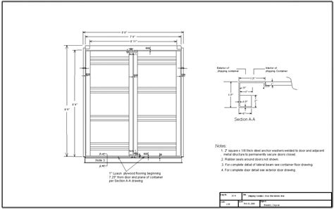 shipping container floor plans dwg shipping container construction details container house