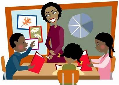 Students Clipart Middle Student Instruction Teacher Engaged