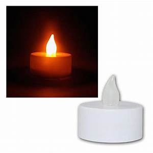 Flackernde Led Kerzen : 12er set led teelichter flackernde kerzen elektri ~ Markanthonyermac.com Haus und Dekorationen