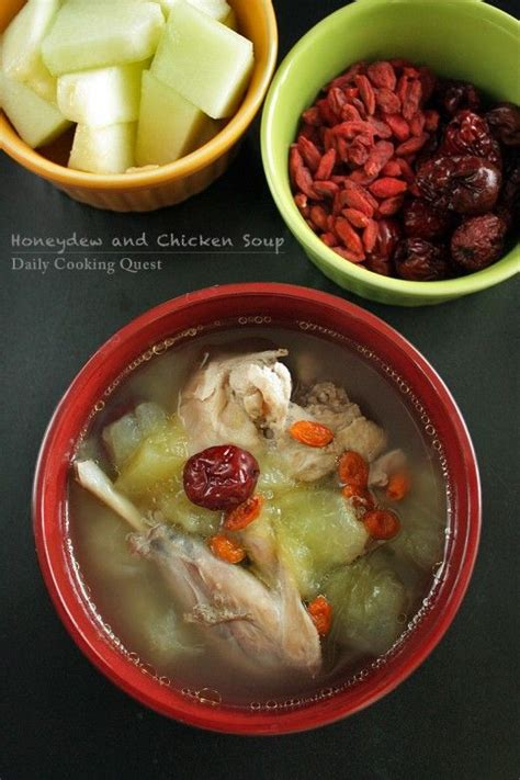 cuisine cantonaise recettes honeydew and chicken soup year