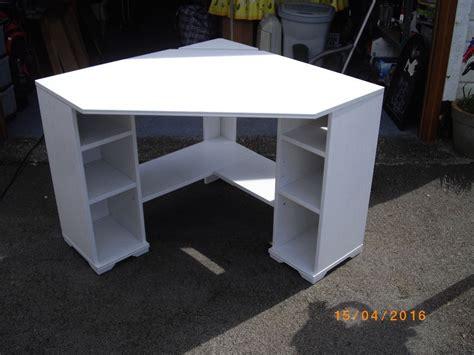 corner desks ikea uk ikea brusali corner desk in blandford forum dorset