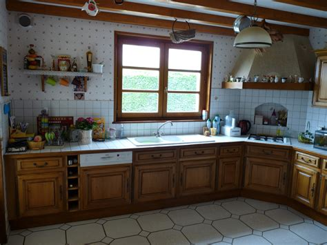 repeindre sa cuisine en chene davaus peindre cuisine chene en blanc avec des