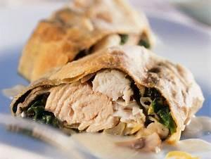 Fisch Mit H : fisch spinat strudel mit zitronenso e rezept eat smarter ~ Eleganceandgraceweddings.com Haus und Dekorationen