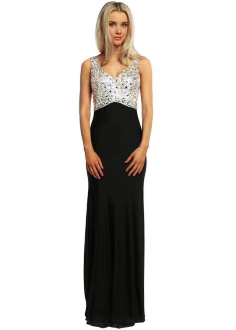 black evening maxi dress black long party dress