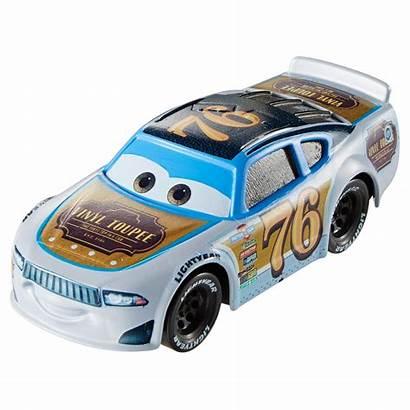 Cars Toupee Vinyl Disney Pixar Walmart Cast