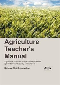 Agriculture Teachers Manual