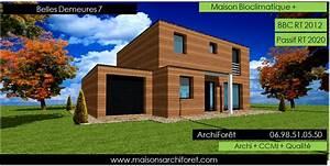 Maison Ossature Bois Toit Plat : maison toit plat et toiture terrasse bac acier ou siplast acrotere et couvertine par votre ~ Melissatoandfro.com Idées de Décoration
