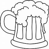 Beer Coloring Bottle Pages Drawing Mug Printable Sheets Tocolor Colouring Root Clipart Birthday Happy Drinking Bar Colorear Wine Getcolorings Cerveza sketch template
