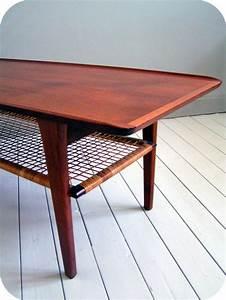 Table Basse Année 50 : table basse scandinave ann e 50 table de lit ~ Teatrodelosmanantiales.com Idées de Décoration