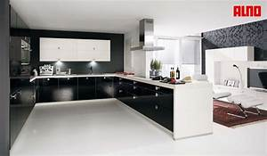 types of kitchens alno With large u shaped kitchen designs