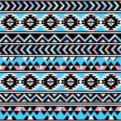 Simple Aztec Tribal Patterns