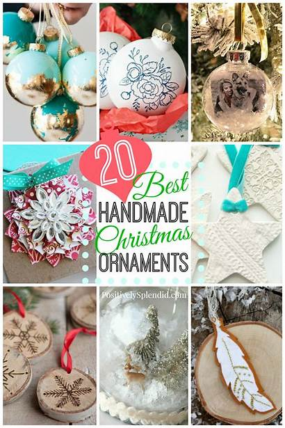 Ornaments Handmade Round Clay Embossed Stars Snow