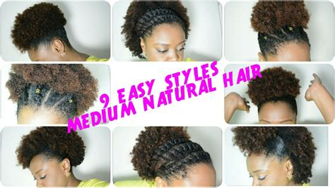 9 back to school hairstyles for medium natural hair 2016