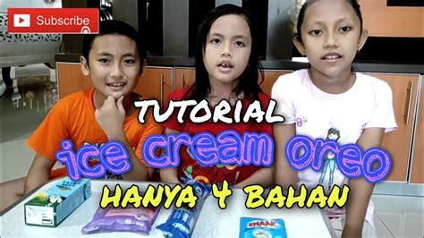 Beriku lima resep dan cara membuat ice cream, mudah dan enak! Cara membuat ice cream Oreo, Mudah dan lembut.. #EdisiLiburSekolah# - YouTube