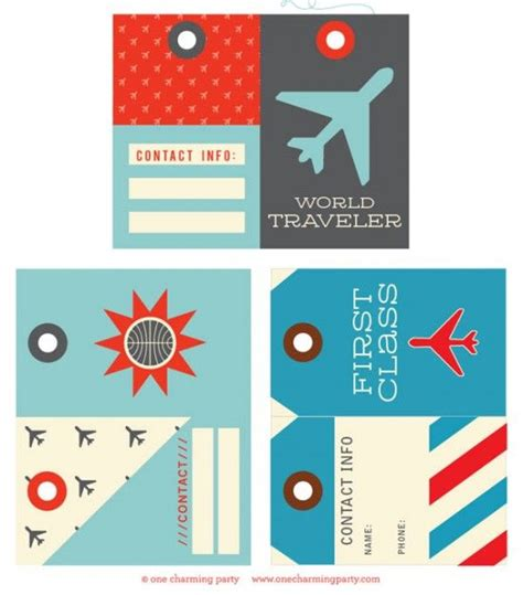 Printable Luggage Tags Images 33 Best Images About Printable Luggage Tags On