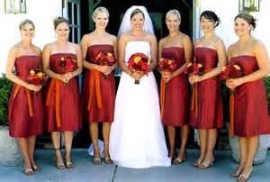 crimson bridesmaid dresses and orange bridesmaid dresseswedwebtalks wedwebtalks