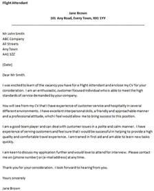 application for flight attendant exle letter of application letter of application sle flight attendant