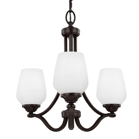 single chandelier feiss vintner 3 light heritage bronze single tier