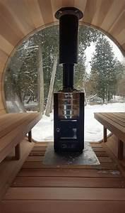Panoramic View Barrel Sauna 74 U2033 X 6ft  U00ab Barrel Saunas